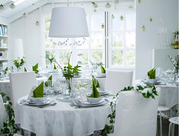 un mariage vert et blanc by ik a j 39 ai dit oui. Black Bedroom Furniture Sets. Home Design Ideas