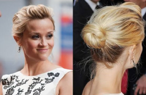 coiffure-chignon-simple