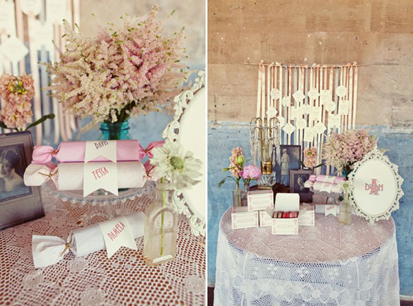 Pictures Of Wedding Gift Tables : Theme 1920, un beau mariage vintage et romantique