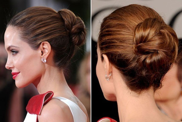 1.chignons-simples-Angelina-Jolie
