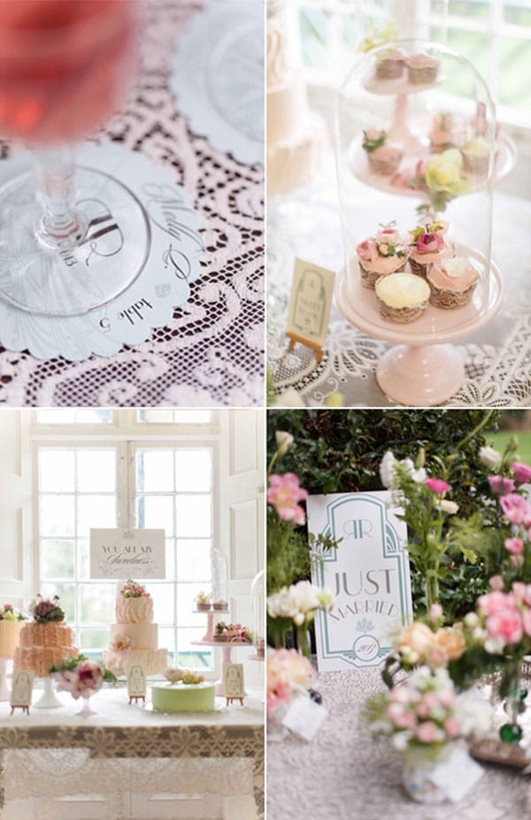 11.mariage-vintage-chic-candy-bar