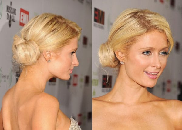 5.chignons-simple-Paris-Hilton