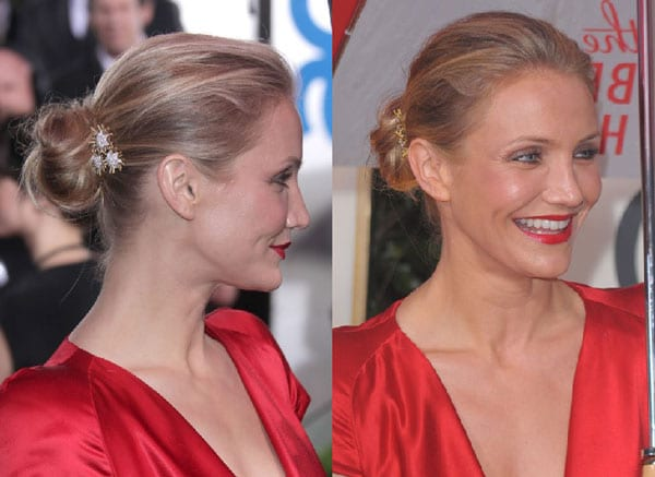 6.chignons-simple-Cameron-Diaz