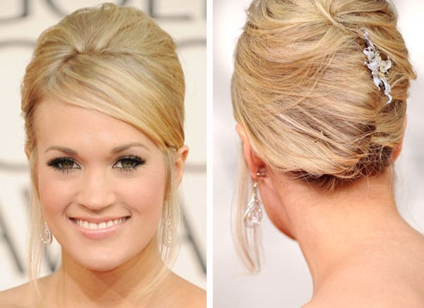 8.chignons-banane-Carrie-Underwood