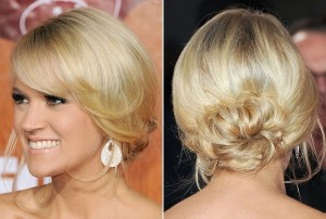8.chignons-simples-Carrie-Underwood