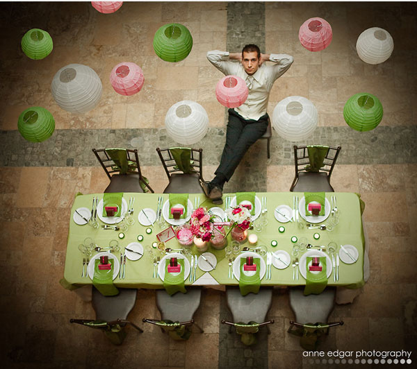 9.mariage-rose-et-vert-table