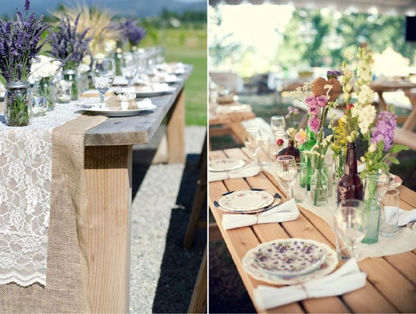d coration de table pour un mariage faire soi meme id es et d 39 inspiration sur le mariage. Black Bedroom Furniture Sets. Home Design Ideas