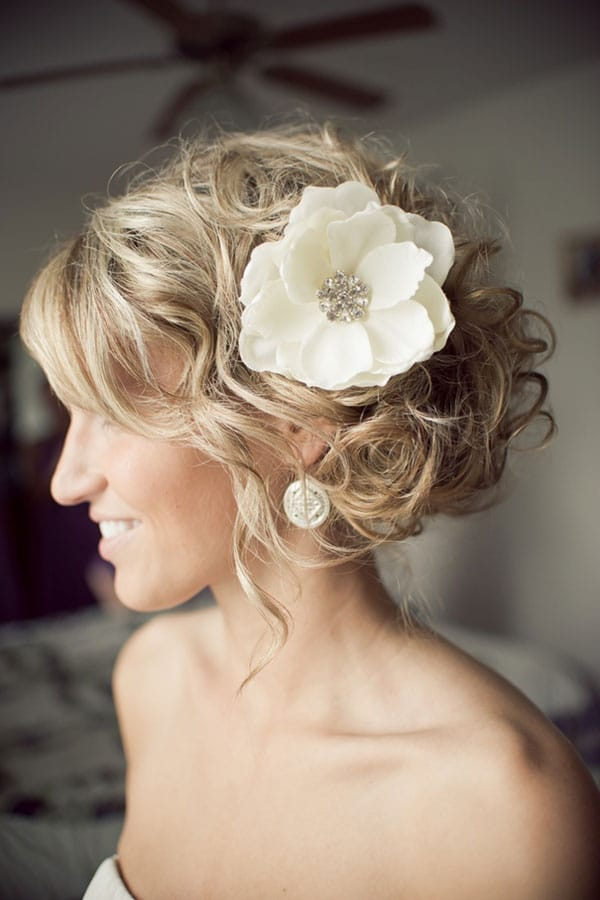 HD wallpapers wedding hairstyle side bun