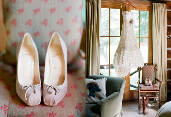 3.mariage-theme-nature-chaussures-robe-de-mariee