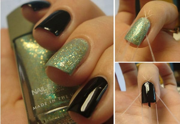 nail art 7 tutoriels faciles faire avec du scotch j 39 ai dit oui. Black Bedroom Furniture Sets. Home Design Ideas