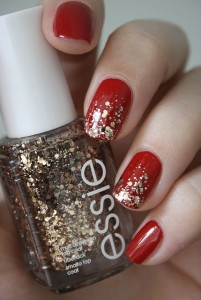 3.nail-art-rouge-et-or