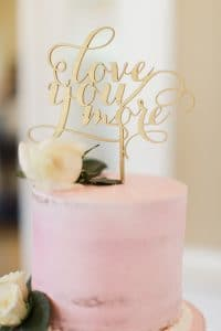 8.cake-topper-mariage-love-you-more